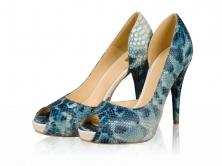 Pantofi dama- P34N Blue Piton